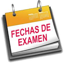 FECHAS PRUEBAS EXTRAORDINARIAS DE SEPTIEMBRE 2018